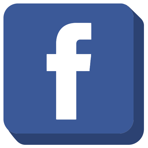 Social media glyph icon. Facebook clipart glyphicon