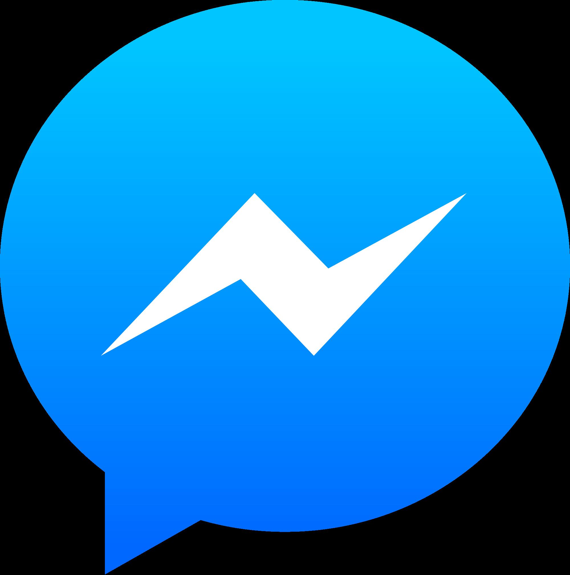 Messenger logo png alternative. Facebook clipart ios