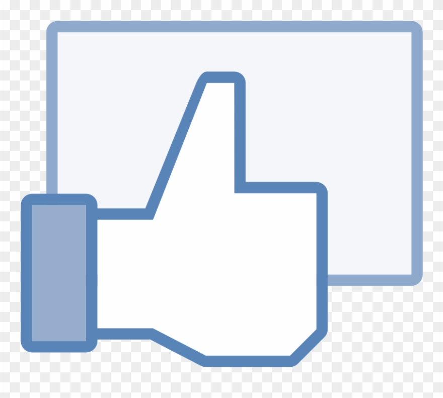 Facebook clipart material. Like icon png transparent