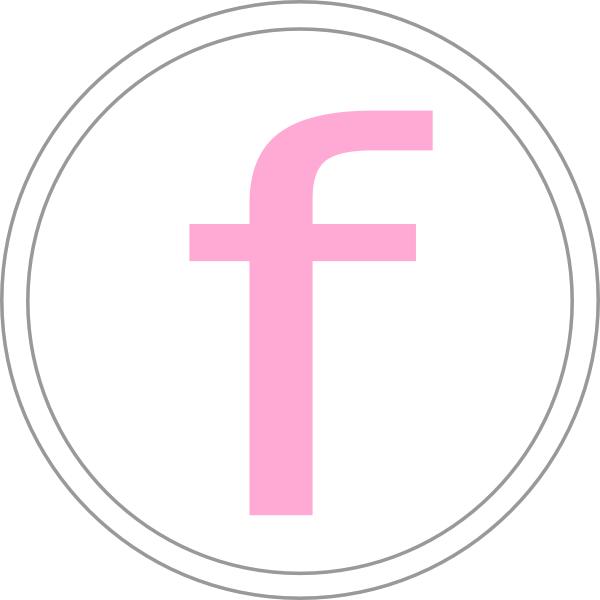 Facebook clipart material. Pink icon clip art
