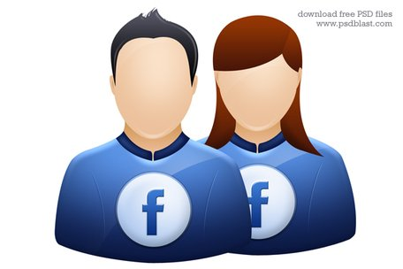 Facebook clipart psd. Free user icon twitter