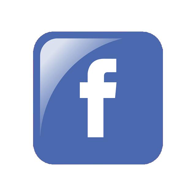 Logo social media icon. Facebook clipart psd