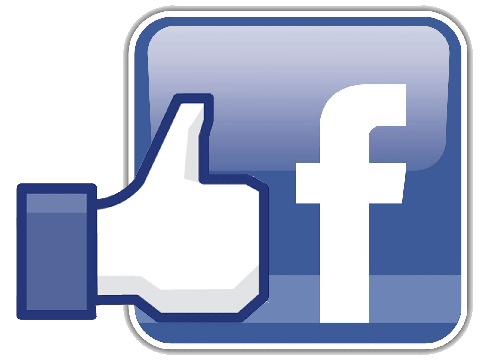 Facebook icon png. With like transparent stickpng