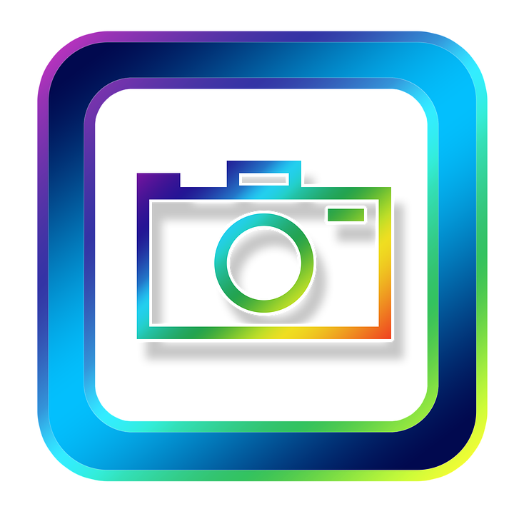 Built in camera gif. Facebook clipart square