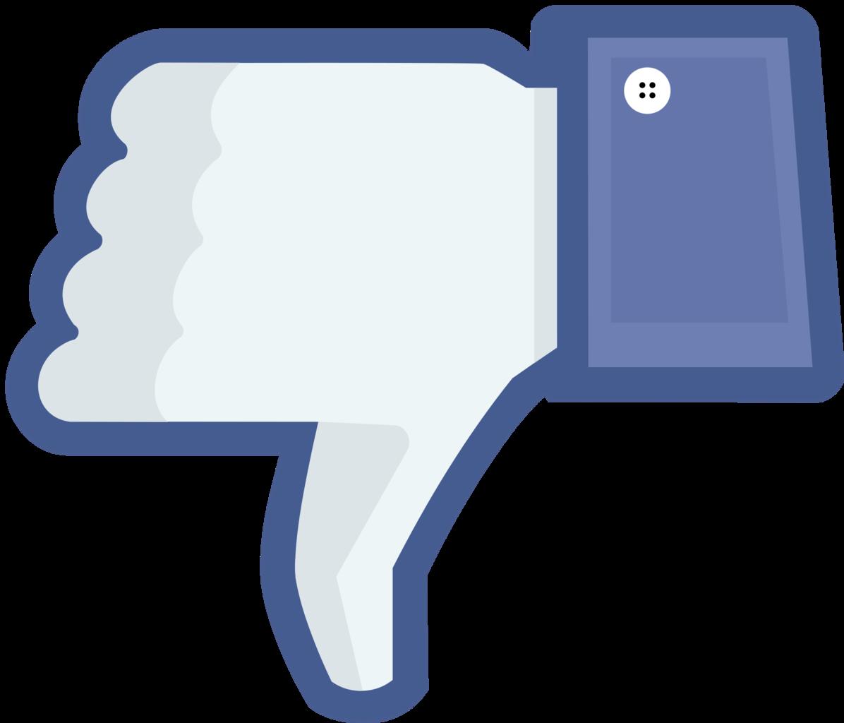 Facebook thumbs down clip. Thumb clipart thum