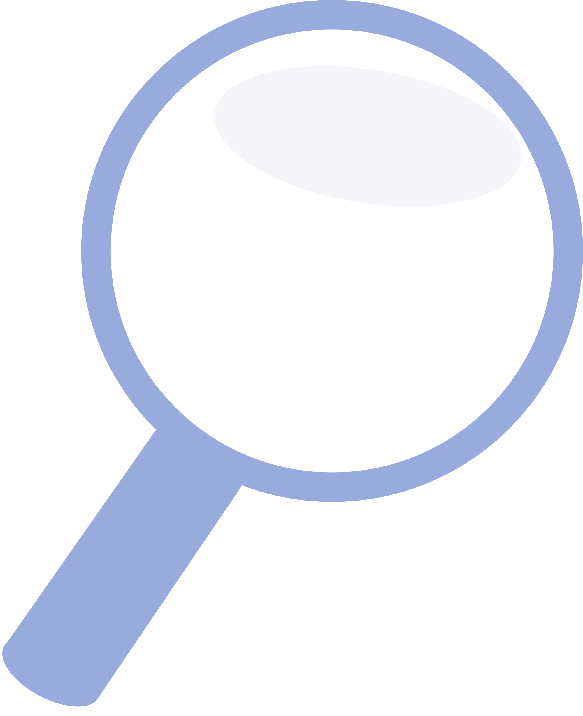 File blue icon svg. Magnifying glass vector png