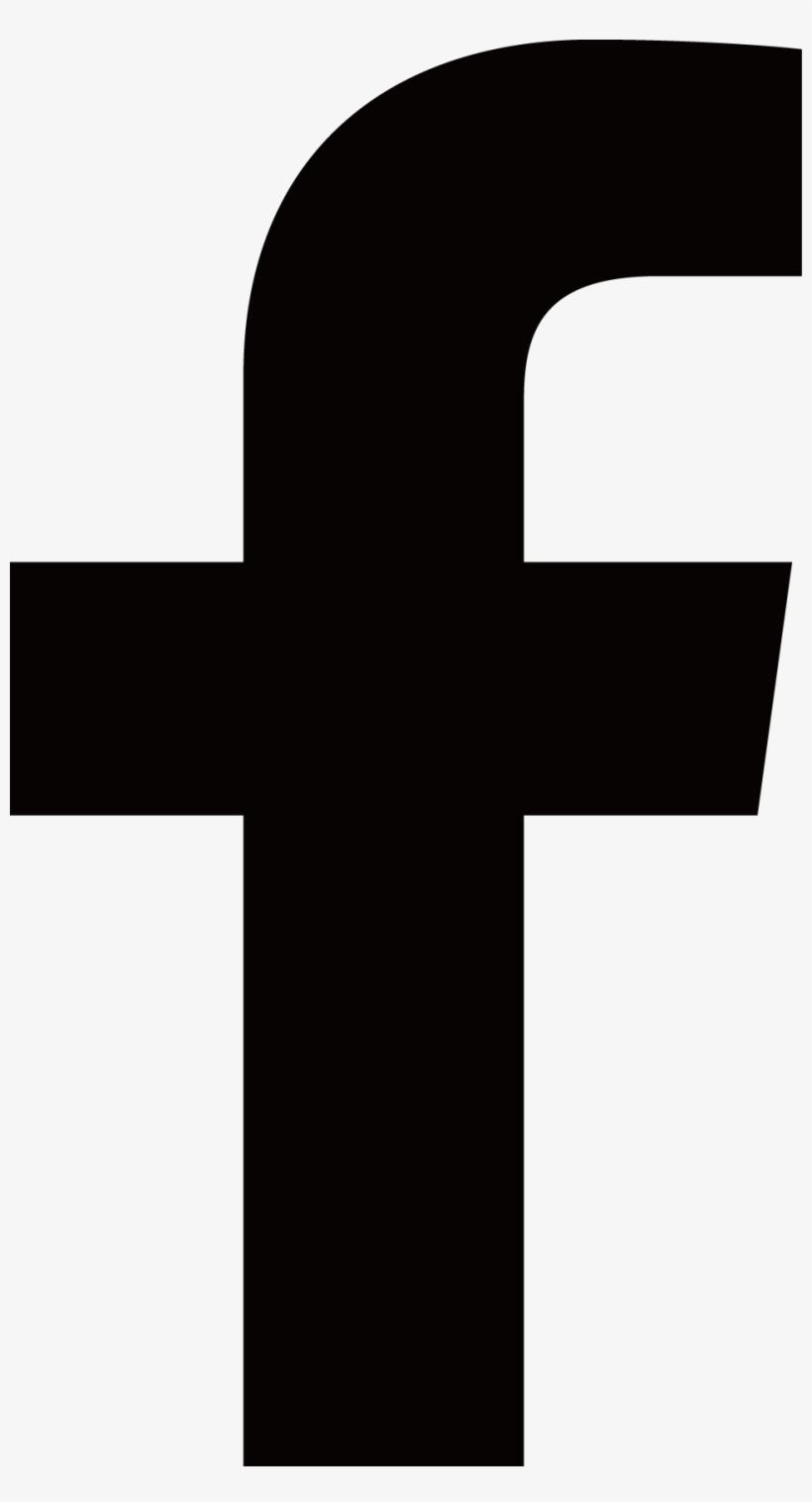 Facebook clipart svg. Transparent background black icon