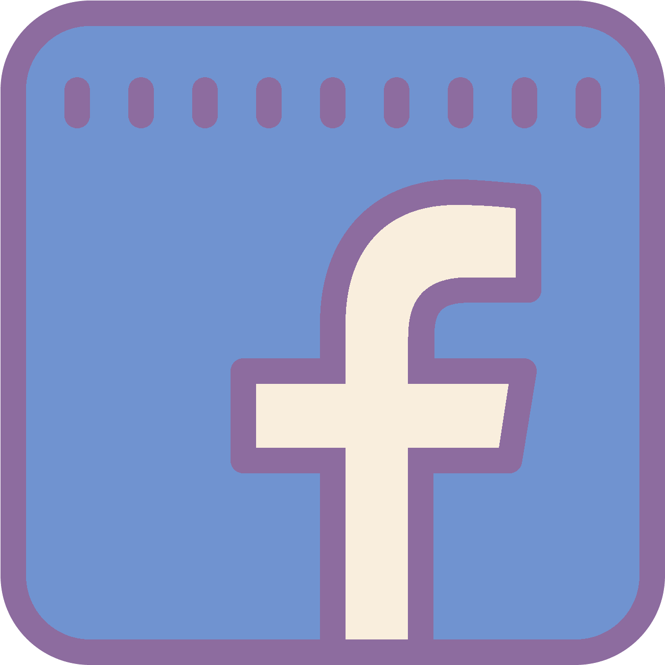 Facebook clipart svg. Icon free png and