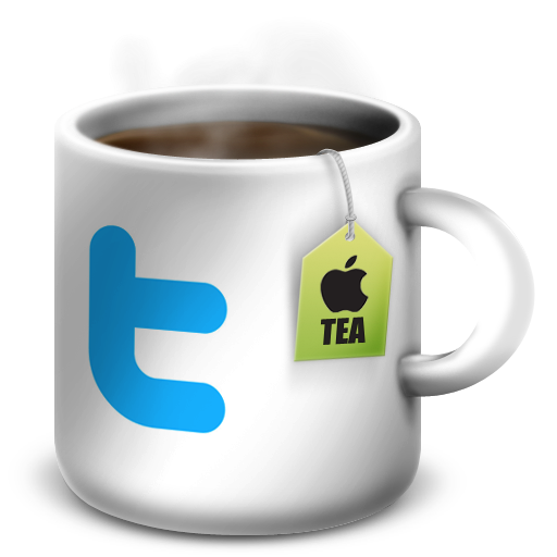 Apple mug softicons com. Facebook twitter icon png