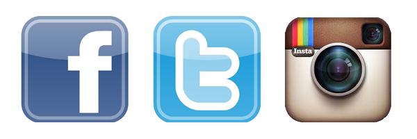 Facebook twitter instagram icons png. Free download on mbtskoudsalg