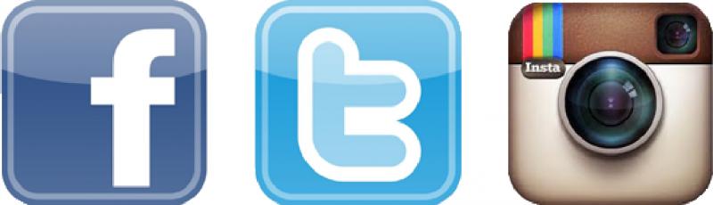 Facebook twitter instagram png. Logos banner download
