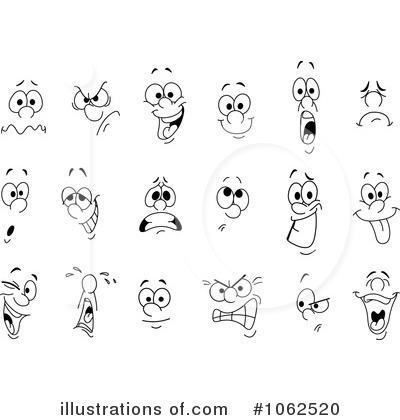 Illustration by yayayoyo royaltyfree. Faces clipart