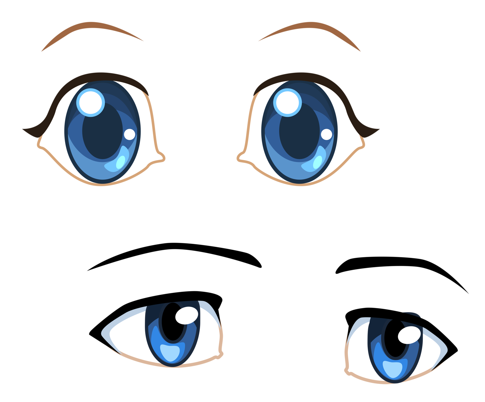 Faces clipart doll face.  png pinterest eye