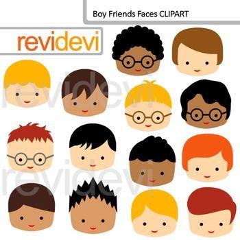 Faces clipart doll face. Clip art boy friends
