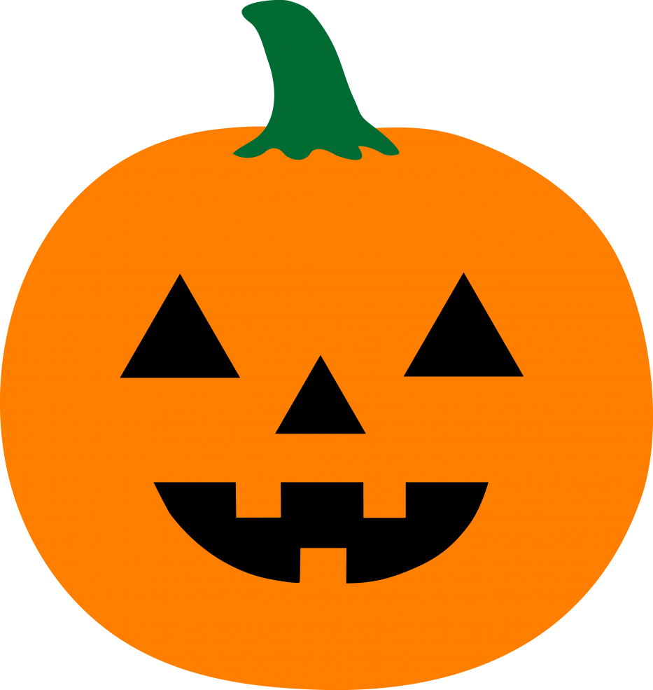Jack o lantern patterns. Faces clipart easy