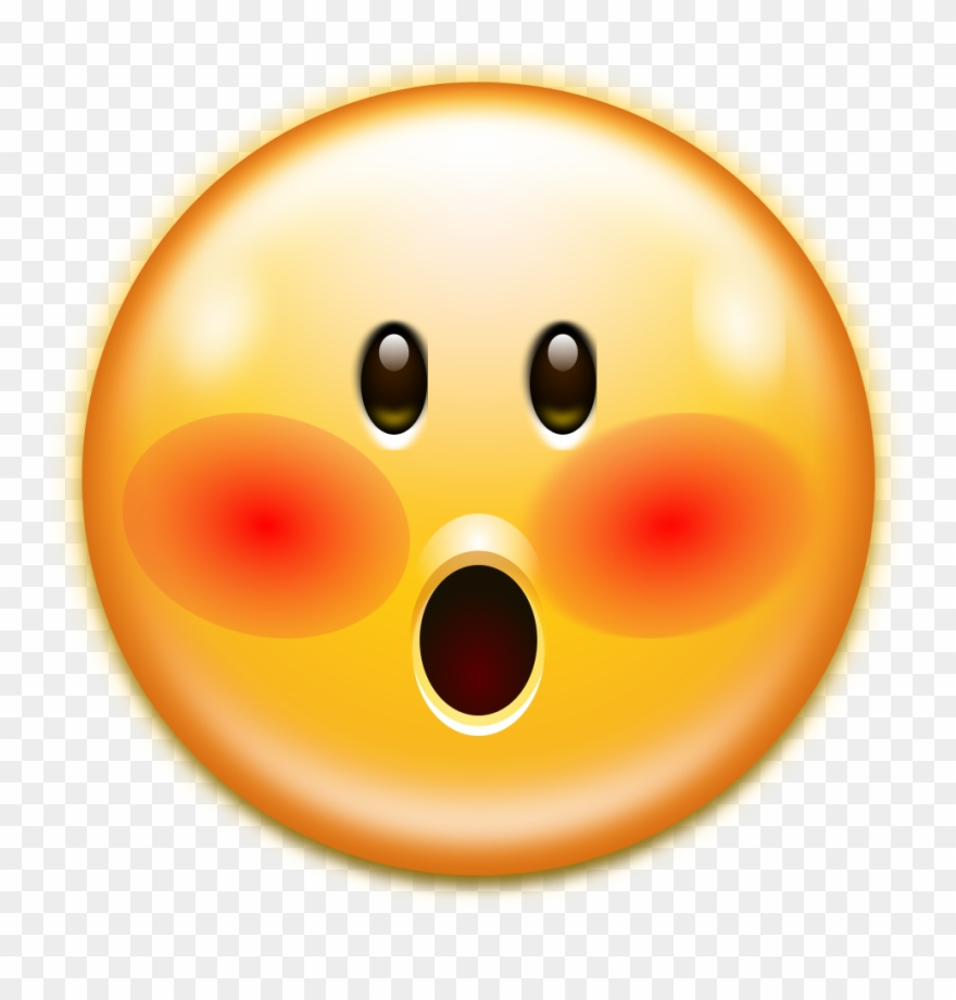 Oxygen emotes face smiley. Faces clipart embarrassed