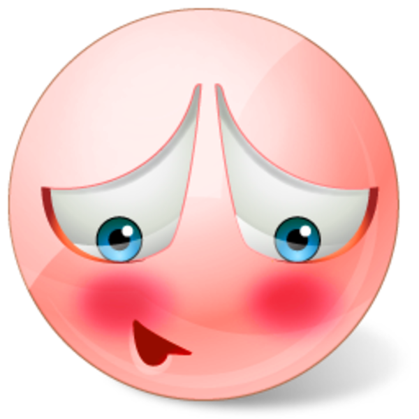 collection of embarrassed. Shy clipart blush