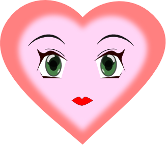 Free page of public. Faces clipart heart