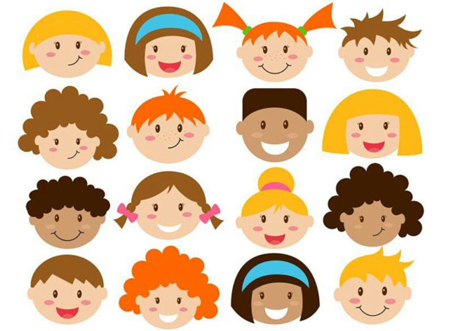 Pin by renata pacha. Faces clipart kid faces