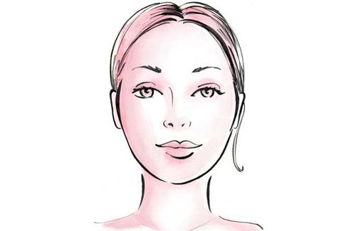 Neck clipart oval face. Top hairstyles for faces