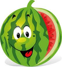 Watermelon clipart smiley face. Image result for cartoon