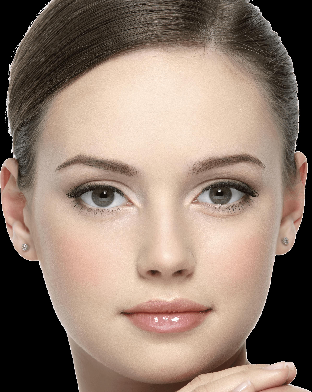 Blonde woman transparent png. Faces clipart woman's face