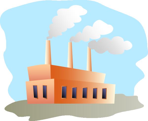 Factory clip art at. Factories clipart