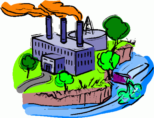 Factories free images at. Pollution clipart destroyed environment