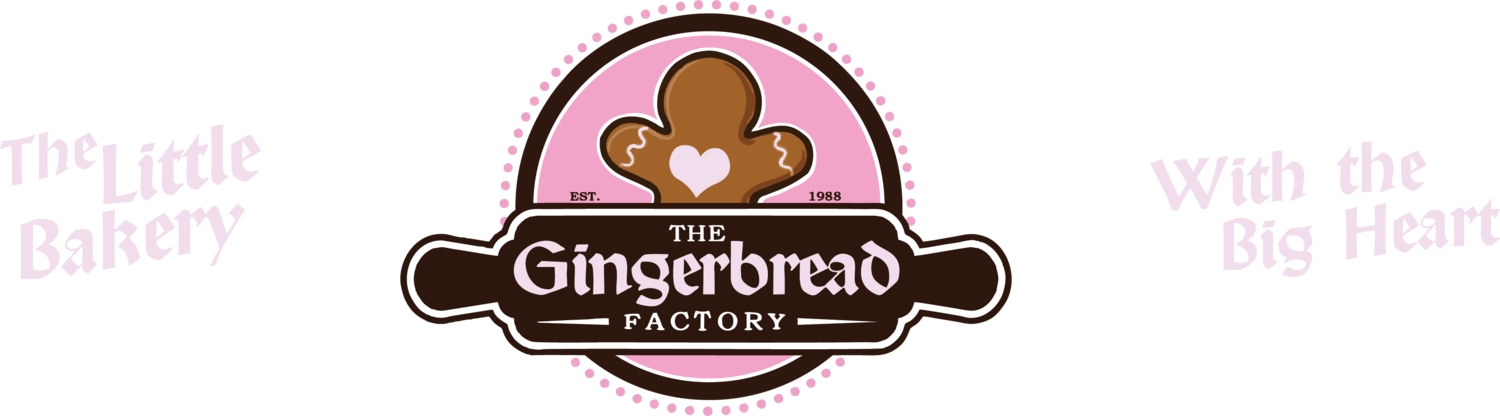 The factory . Gingerbread clipart train