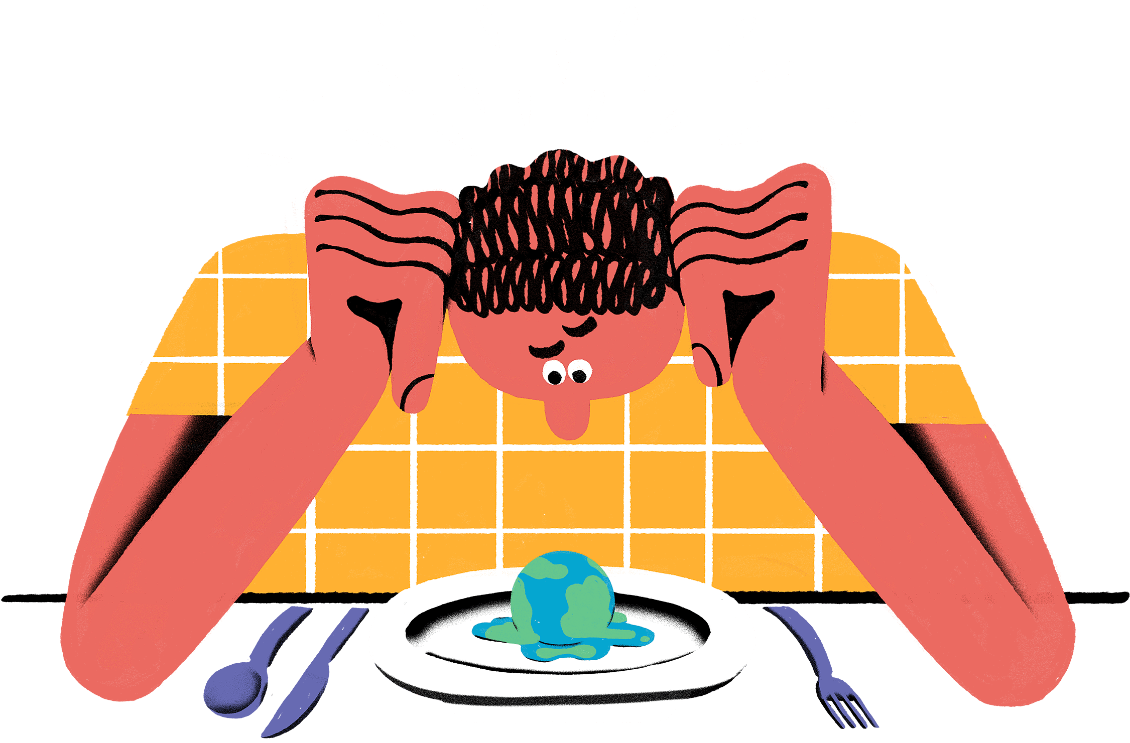 Friendly clipart few person. Your questions about food