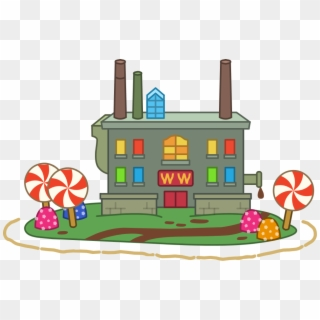 Factories clipart chocolate factory. Charlie and the