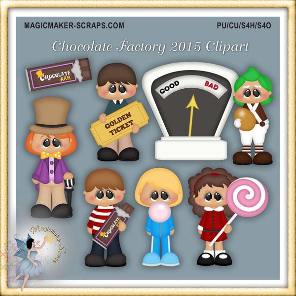 Magicmaker scraps . Factories clipart chocolate factory