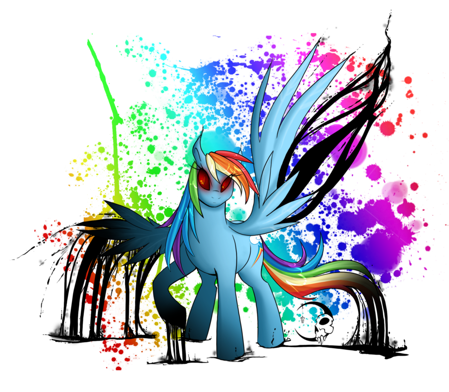 Rainbow by ikacte on. Factory clipart colorful