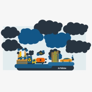 Factory quality pollution png. Factories clipart dirty air