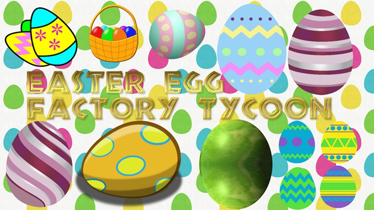 Easter factory tycoon revamp. Factories clipart egg