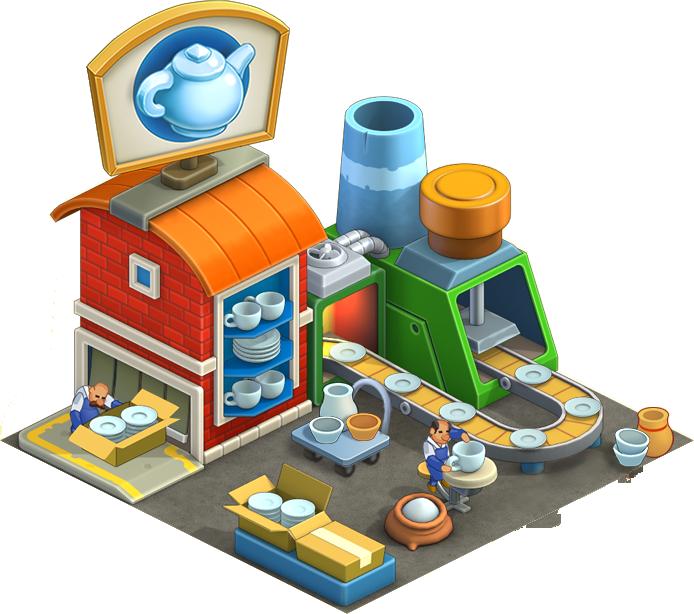 Kitchenware township wiki fandom. Factories clipart factory building