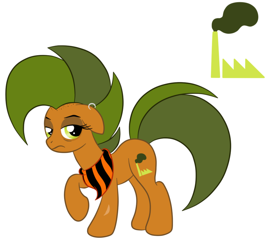 Factory clipart factory operator. Oc ref smog the