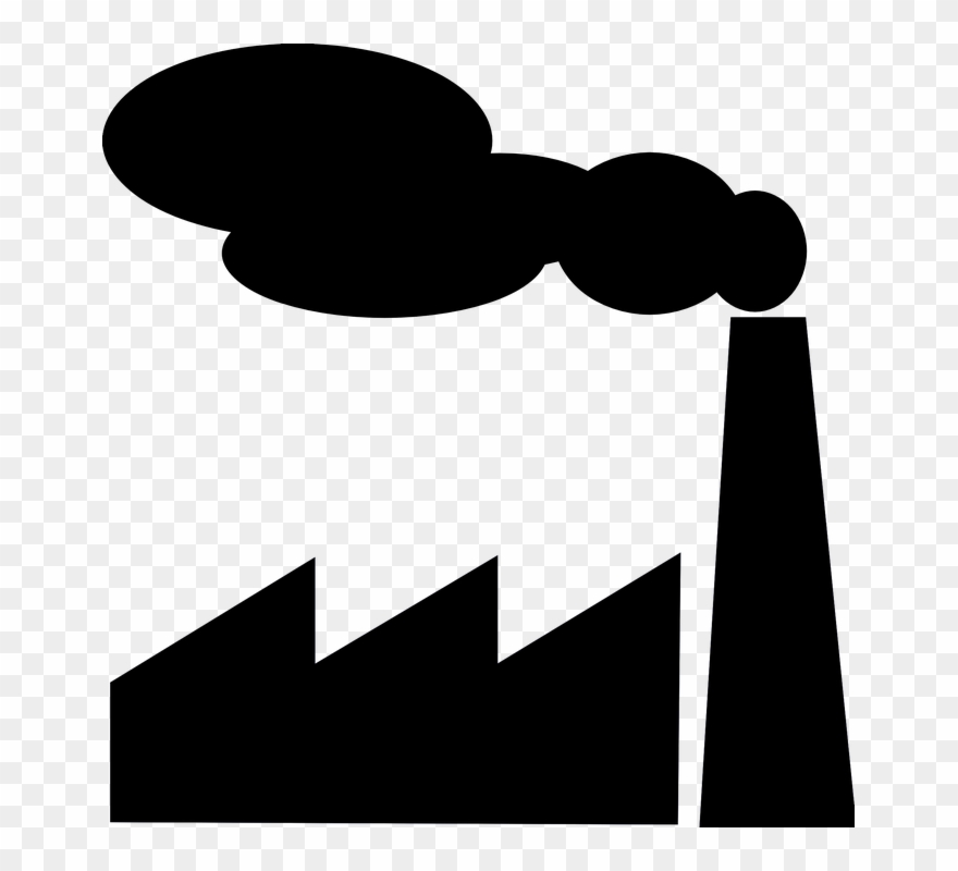 Environmental pollution. pipes with smoke. vector illustration.