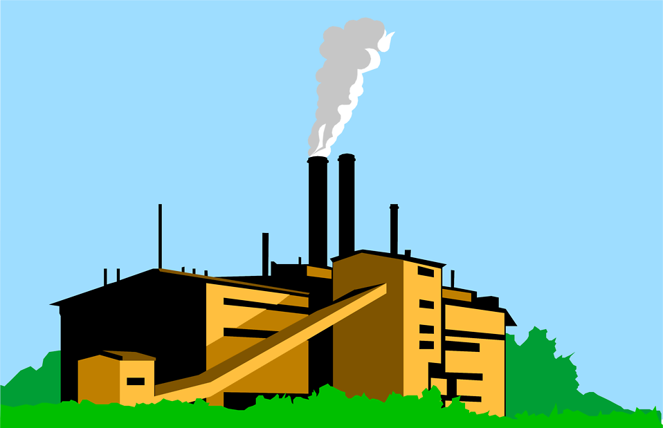 Free cliparts download clip. Factories clipart factory smoke