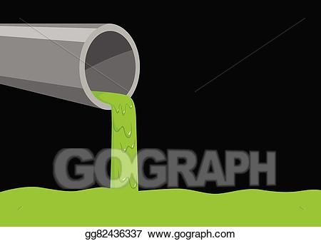 Factories clipart factory waste. Vector illustration eps gg