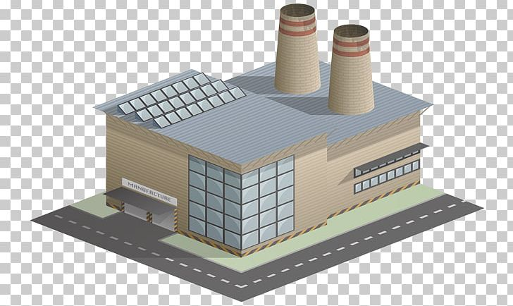 Factory clipart manufacturing unit. Building industry chemical plant