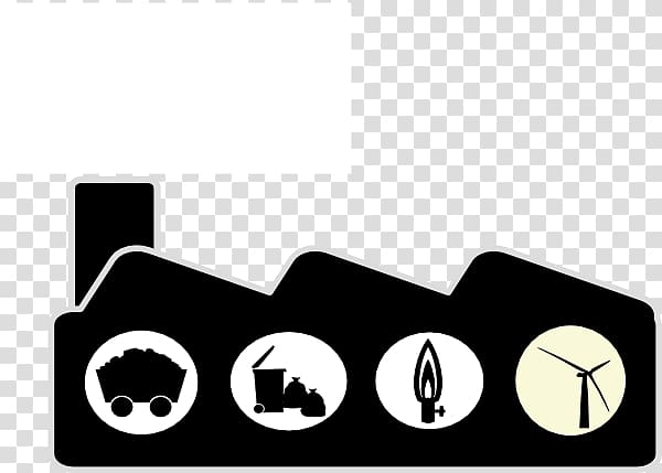 Factory clipart fossil fuel. Power station coal nuclear