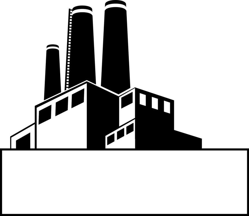 Factories clipart generic. Silhouette angle monochrome photography