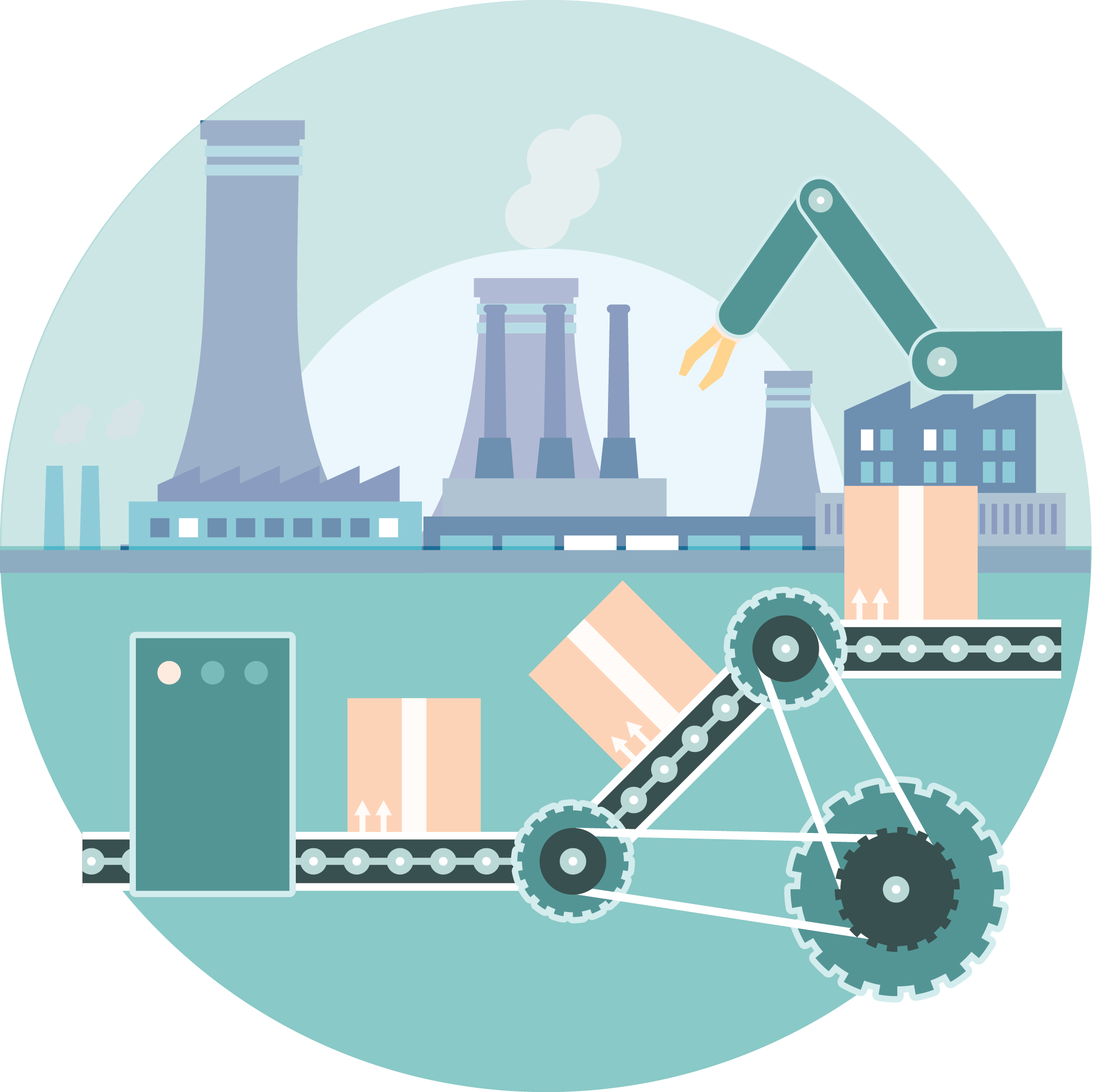 Factories clipart generic. Factory automation vyuti factoryautomation