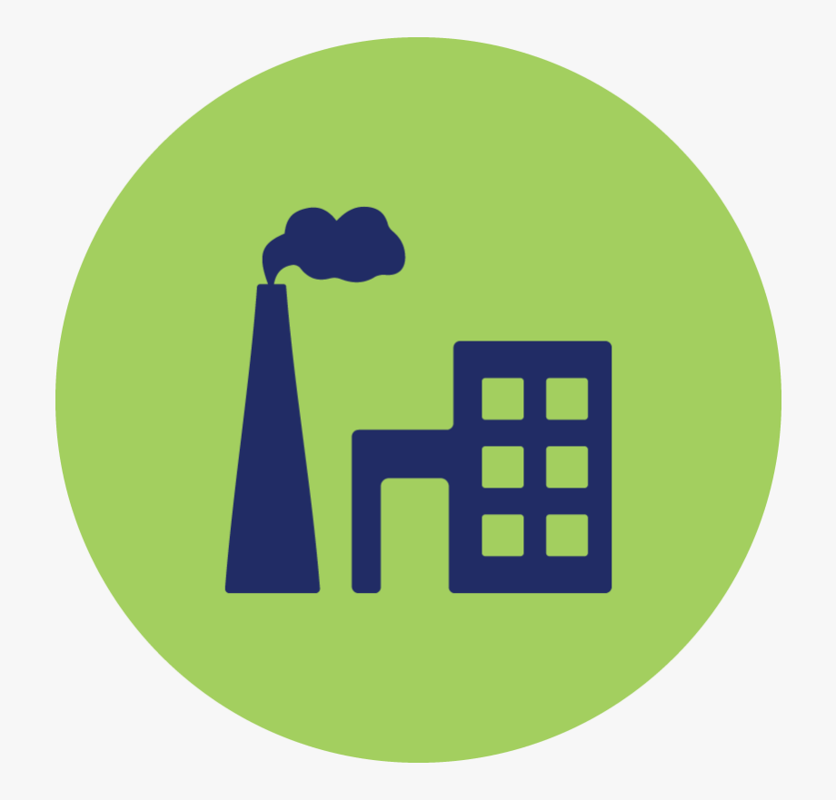 Factory . Factories clipart greenhouse gas emission