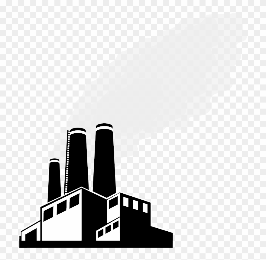 Factories clipart illustration. Svg royalty free download