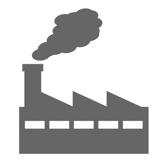 Factory free icon material. Factories clipart industrial area