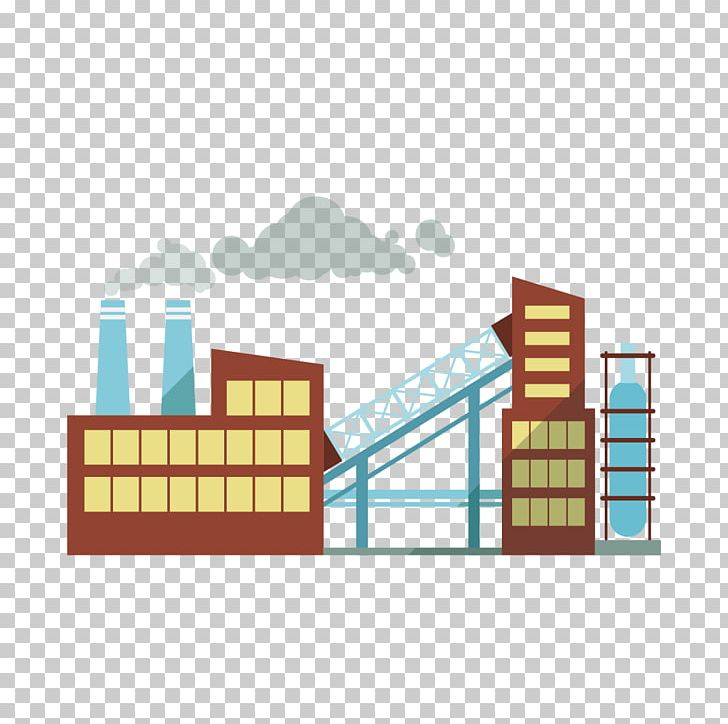 Factories clipart industrial estate. Factory building architecture industry