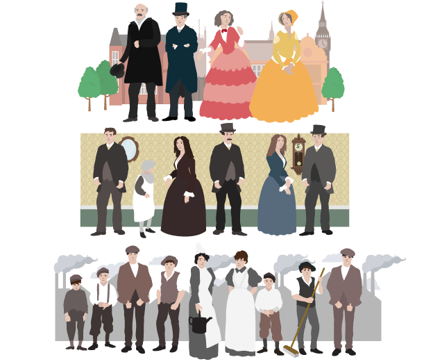 Factory clipart industrial age. Impact of the revolution