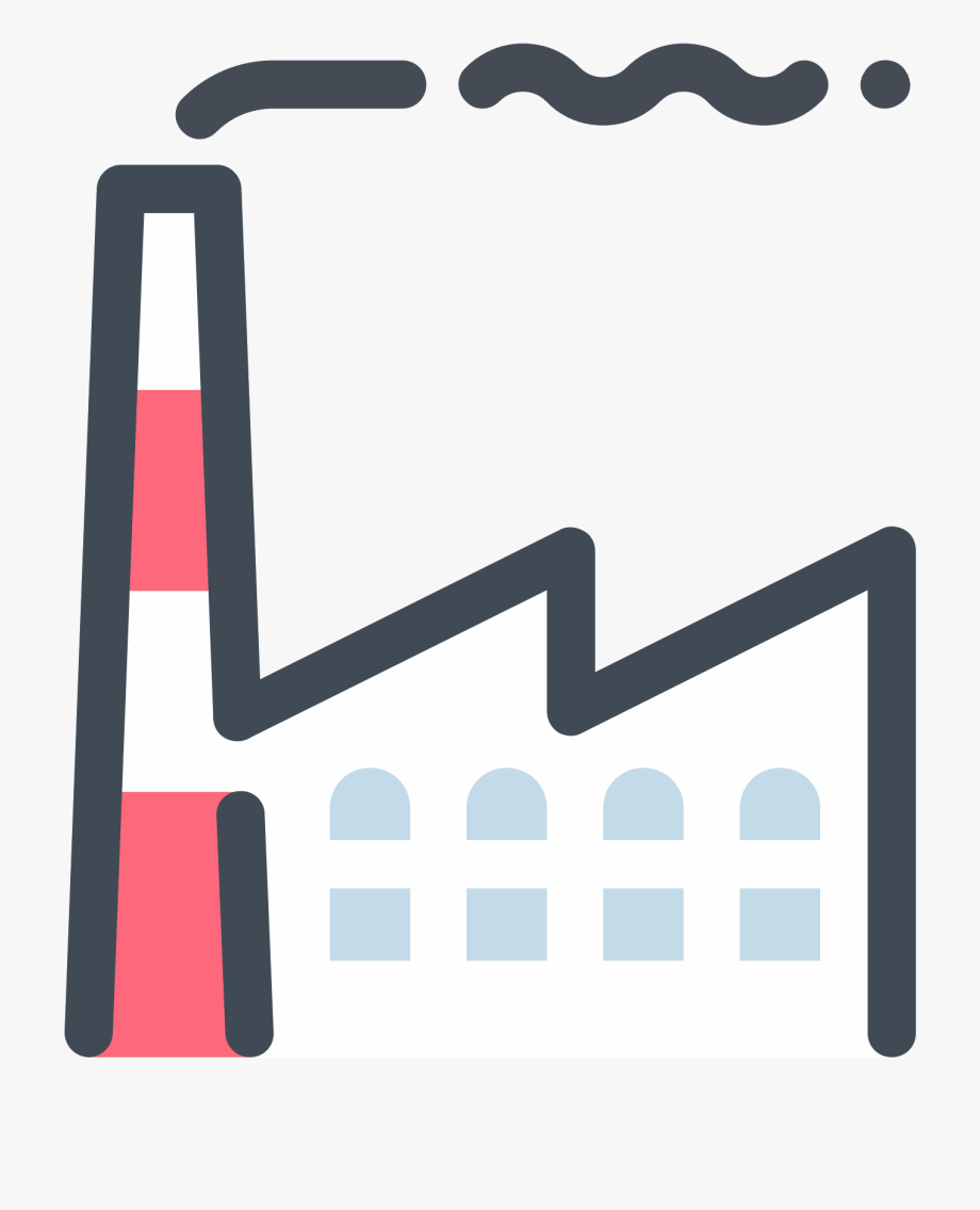 App icon energy . Factory clipart industrialisation